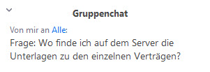 Gruppenchat